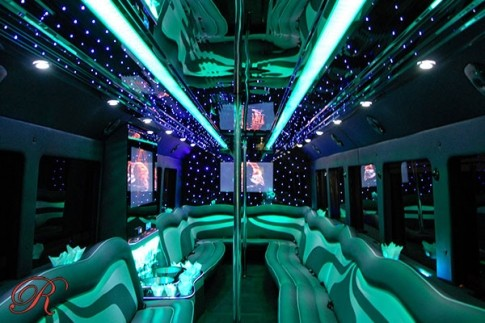 Party bus rental in Houston