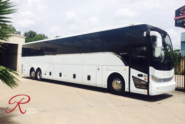 Charter bus service in Houston